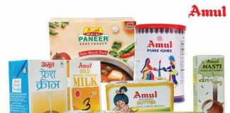 Dairy brands in India