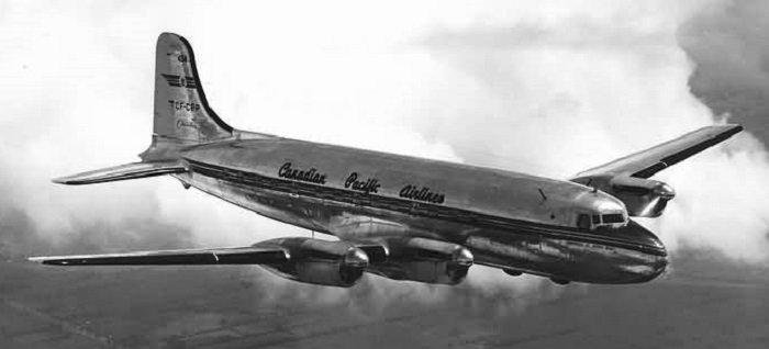 A DC-4 Canadian Pacific Air Lines