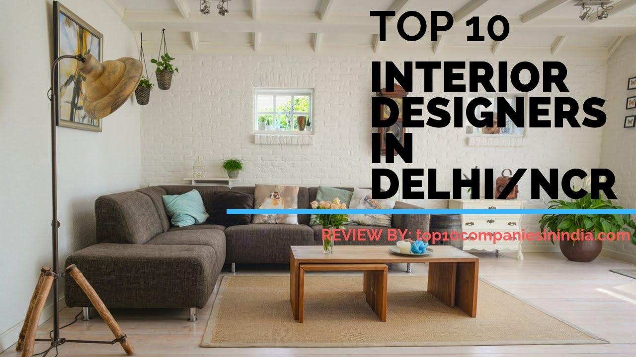top 10 interior designers in delhi